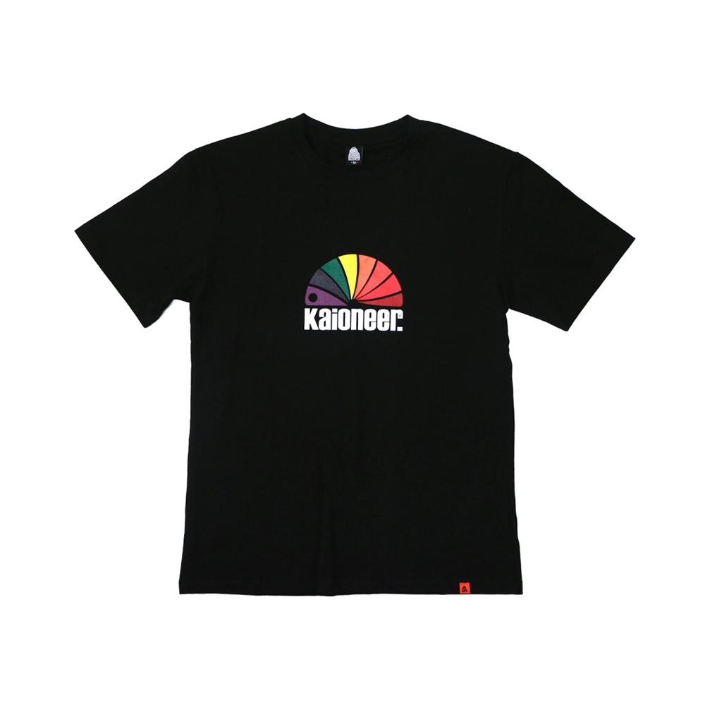 레인보우소우버그 반팔 티셔츠(블랙)