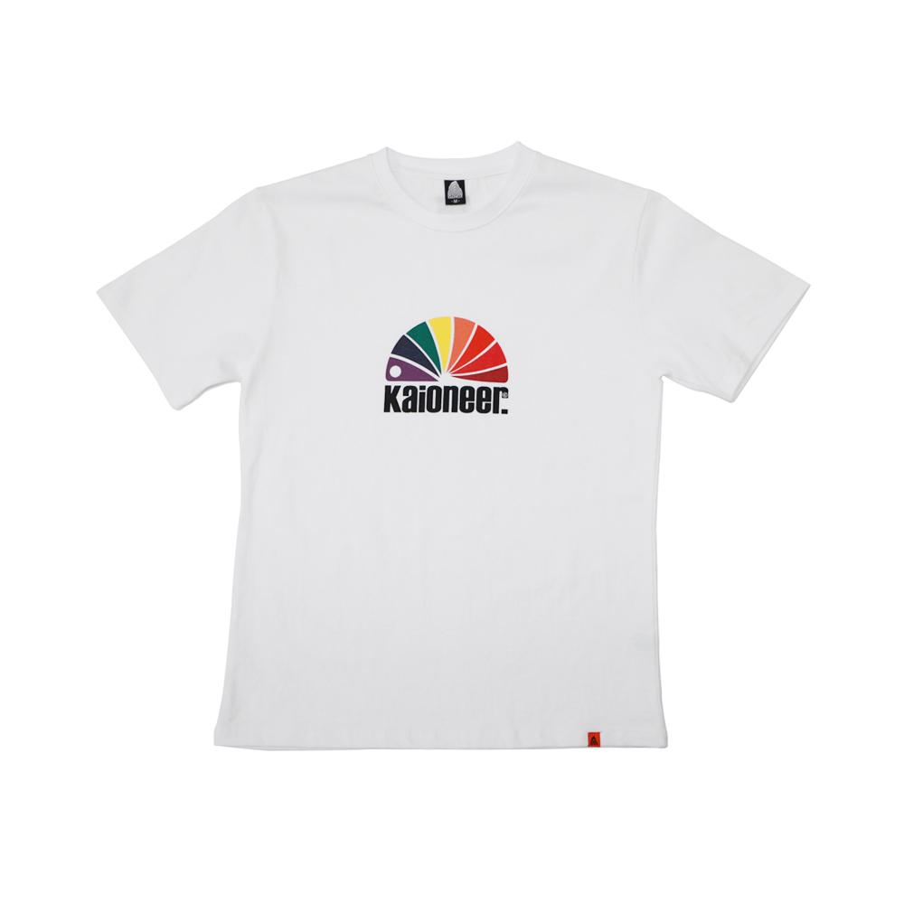레인보우소우버그 반팔 티셔츠(화이트)