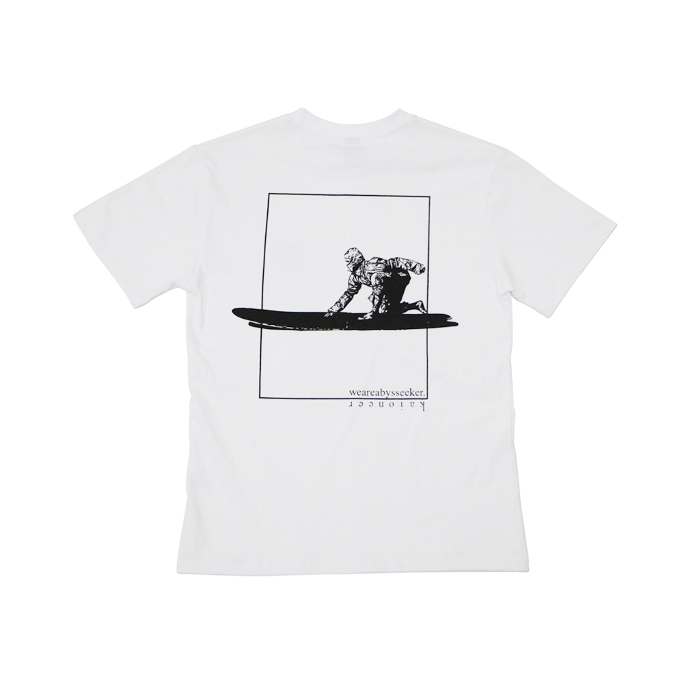서핑닌자 반팔 티셔츠(화이트)