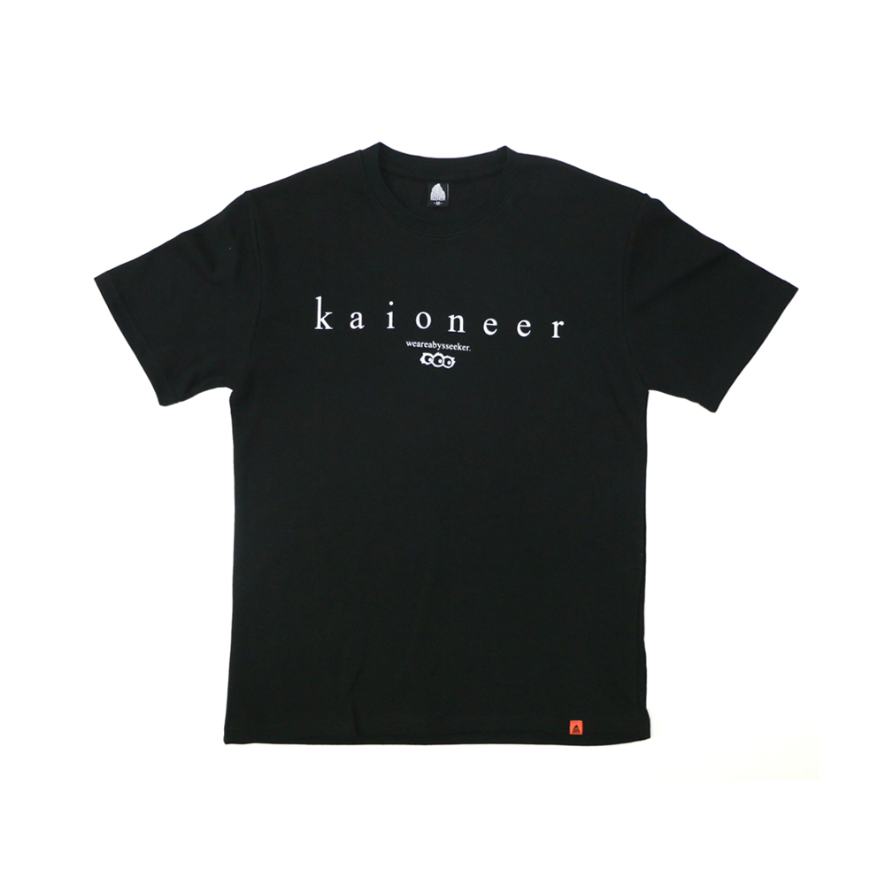 어비스씨커 반팔 티셔츠(블랙)