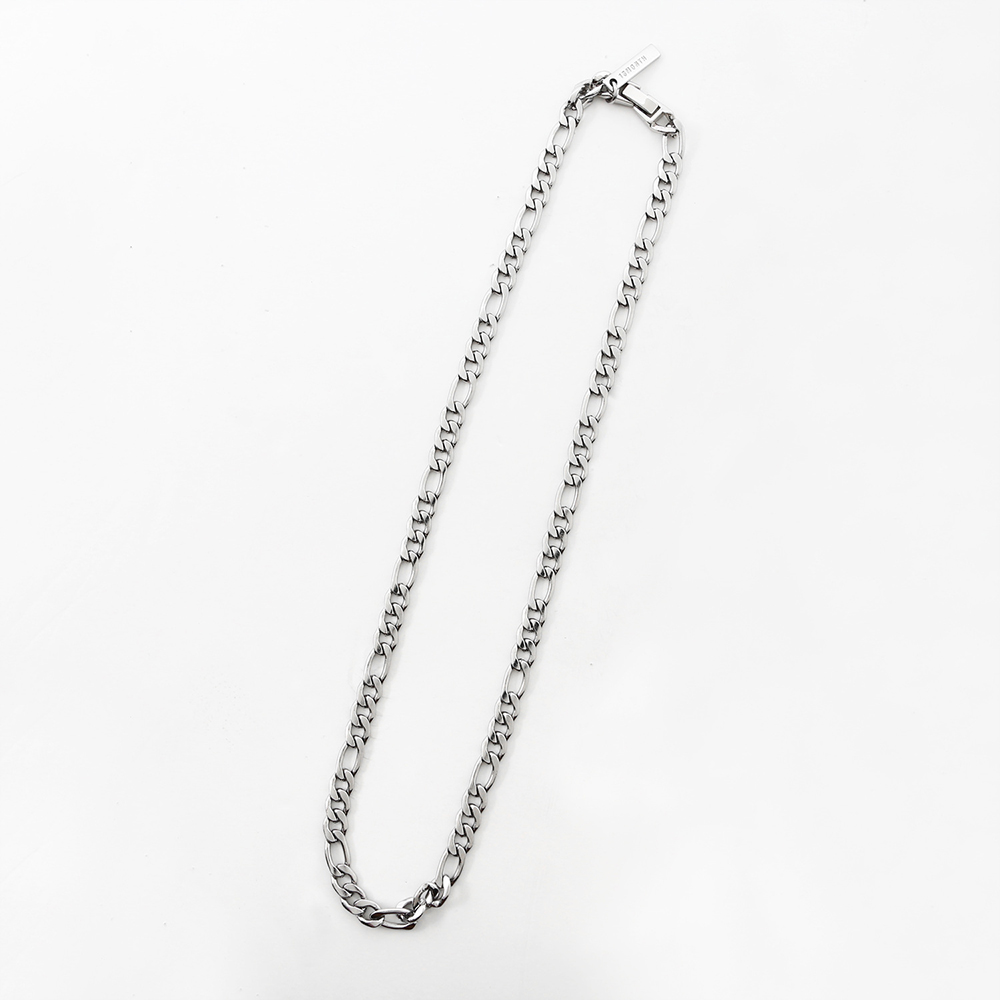 SLIM CHAIN NECKLACE (SILVER)