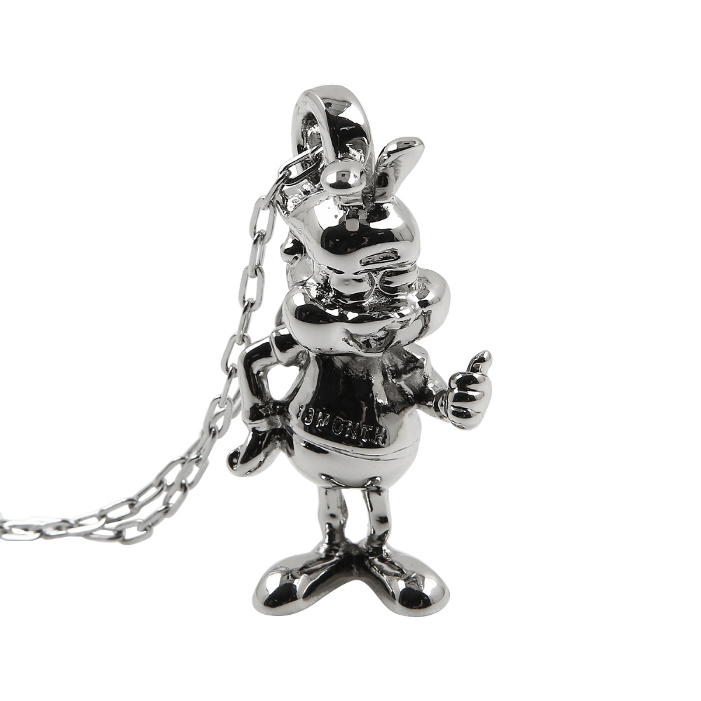 13MONTH X BUWON SIGNATURE RABBIT NECKLACE (SILVER)