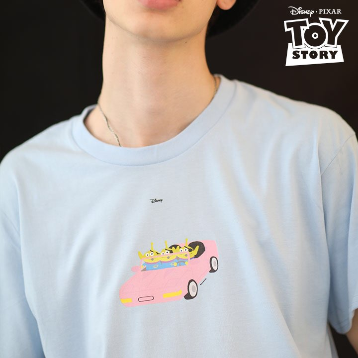 Green Alien CAR T-Shirt Sora