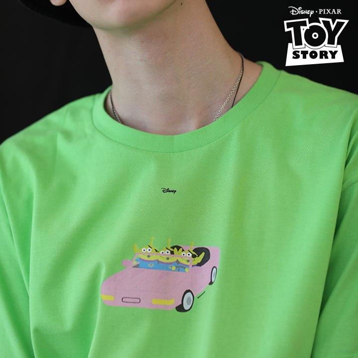 Green Alien CAR T-Shirt Green
