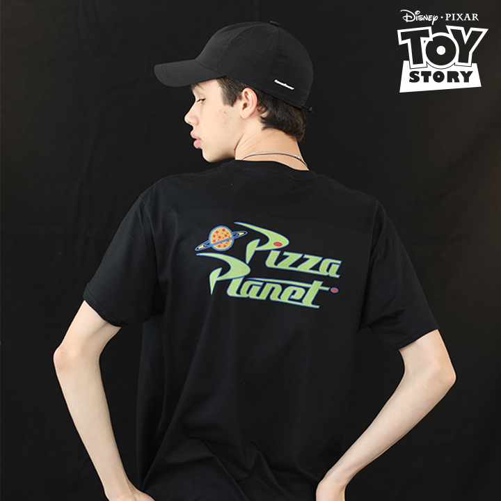 Pizza Planet T-Shirt Black