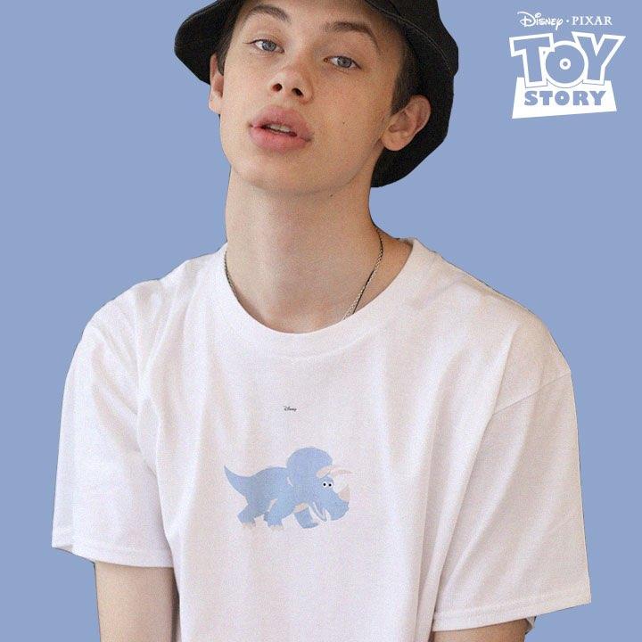 TRICERATOPS T-Shirt White