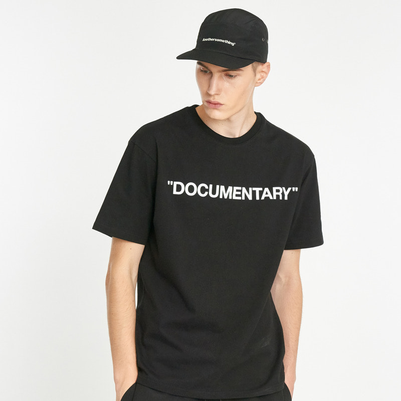 Documentary T-shirts - Black