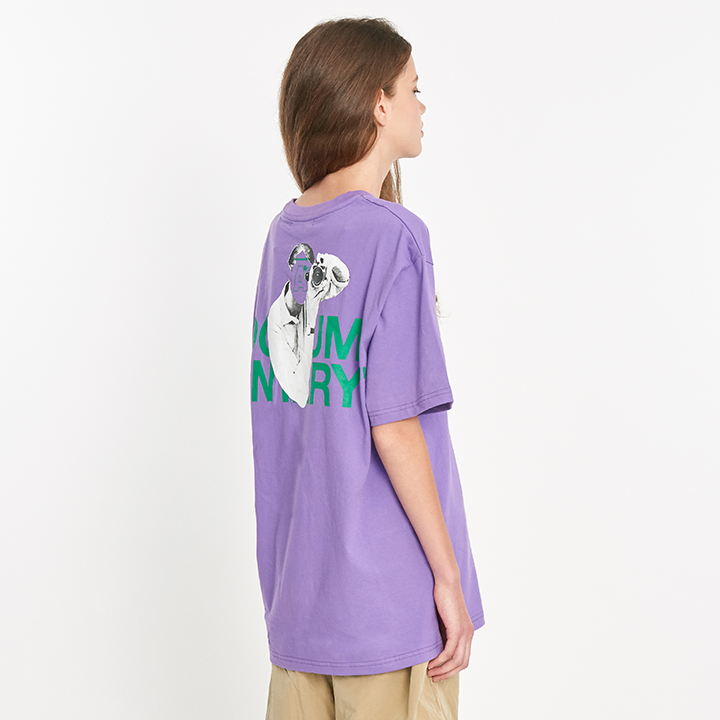 Documentary T-shirts - Purple