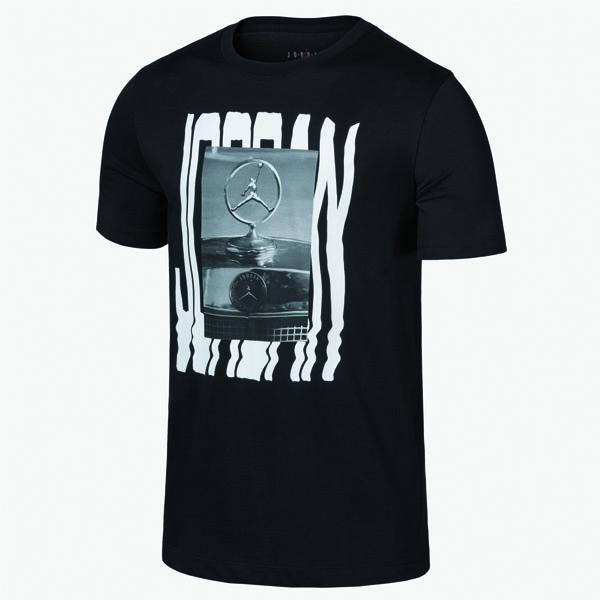 나이키 조던 벤츠 오마주 그래픽 티셔츠