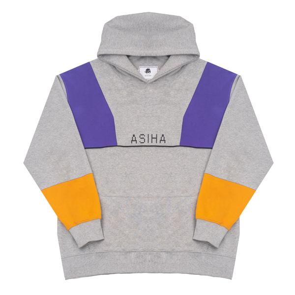 {C} (S/S) AsiHa Retro Pixel Hoodie Gray