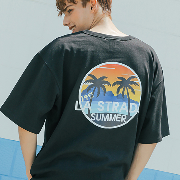 Lastradas Summer half T-shirt_letb0001