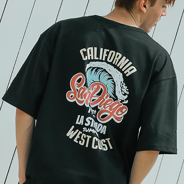 San Diego half T-shirt_letb0002
