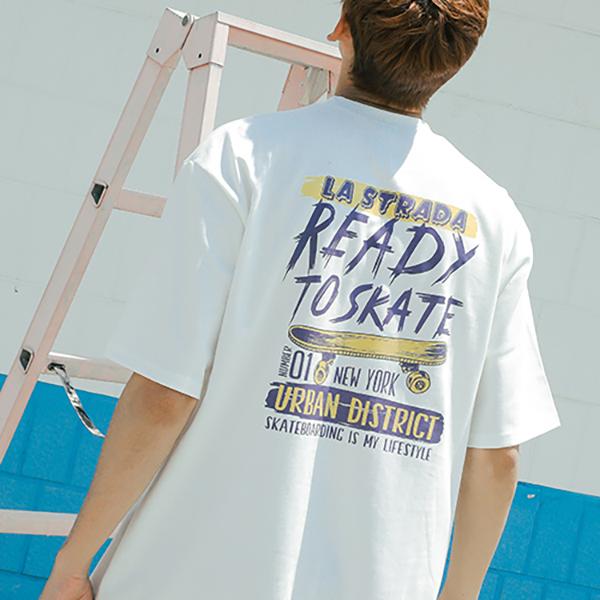 Ready To Skate half T-shirt_lotw0004