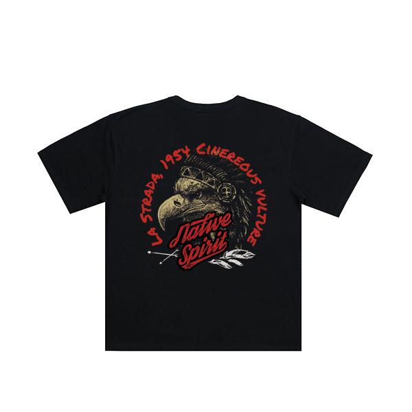 Cinereous vulture half T-shirt_letb0005