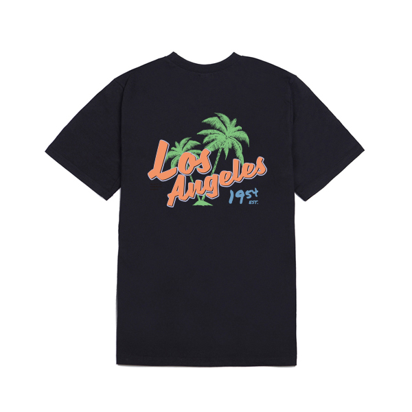 orange Los Angeles T-shirt_lotb0009