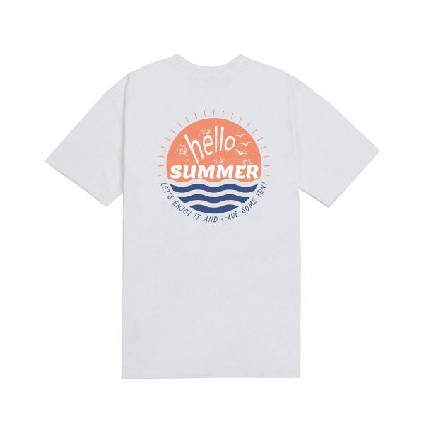 HELLO SUMMER half T-shirt_lotw0009