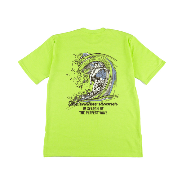BLUE windsurfing half T-shirt_lttg0005