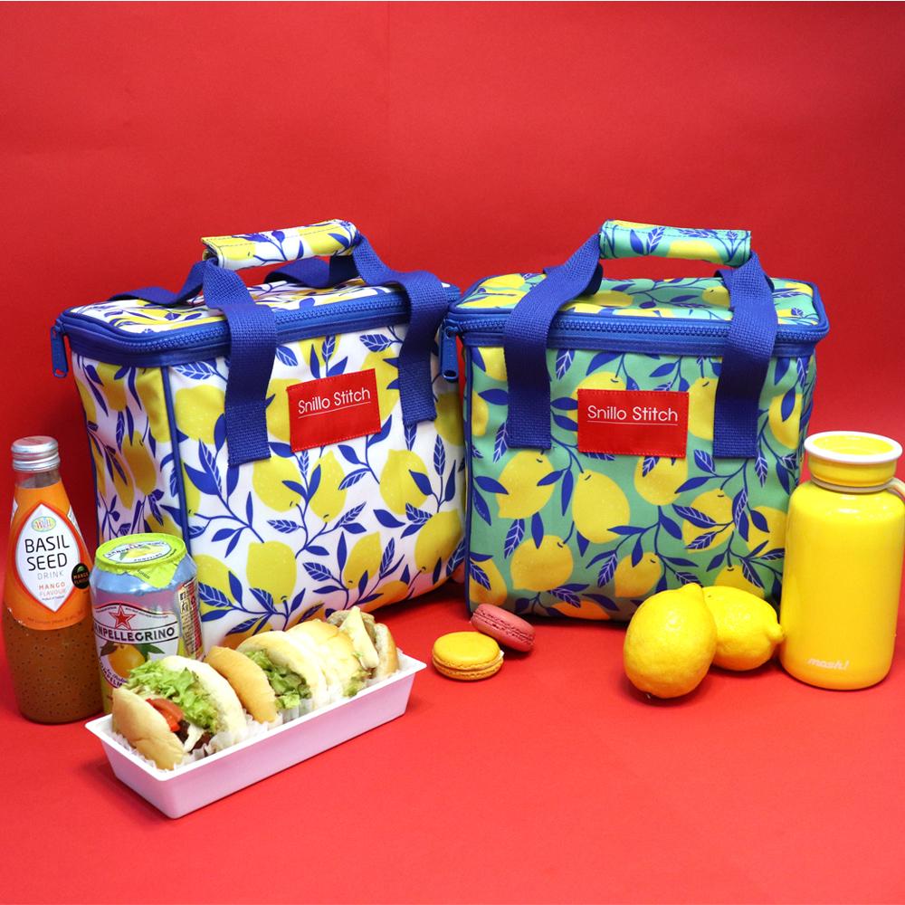스닐로스티치 레몬 보냉피크닉가방