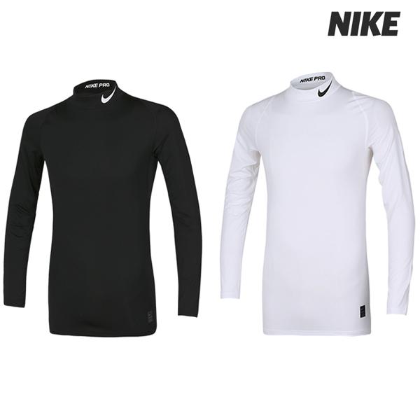 [국내배송]나이키프로 롱슬리브 컴프레션 모크 탑 티셔츠 2종 택일