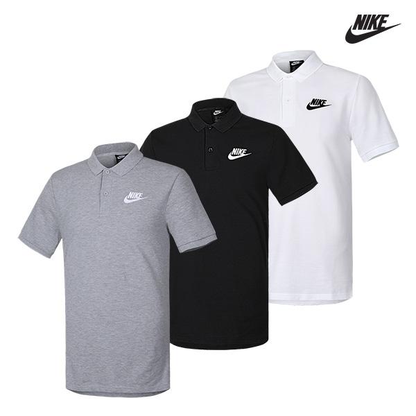 [국내배송]나이키 스우시 폴로 매치업 카라 티셔츠 3종 택일
