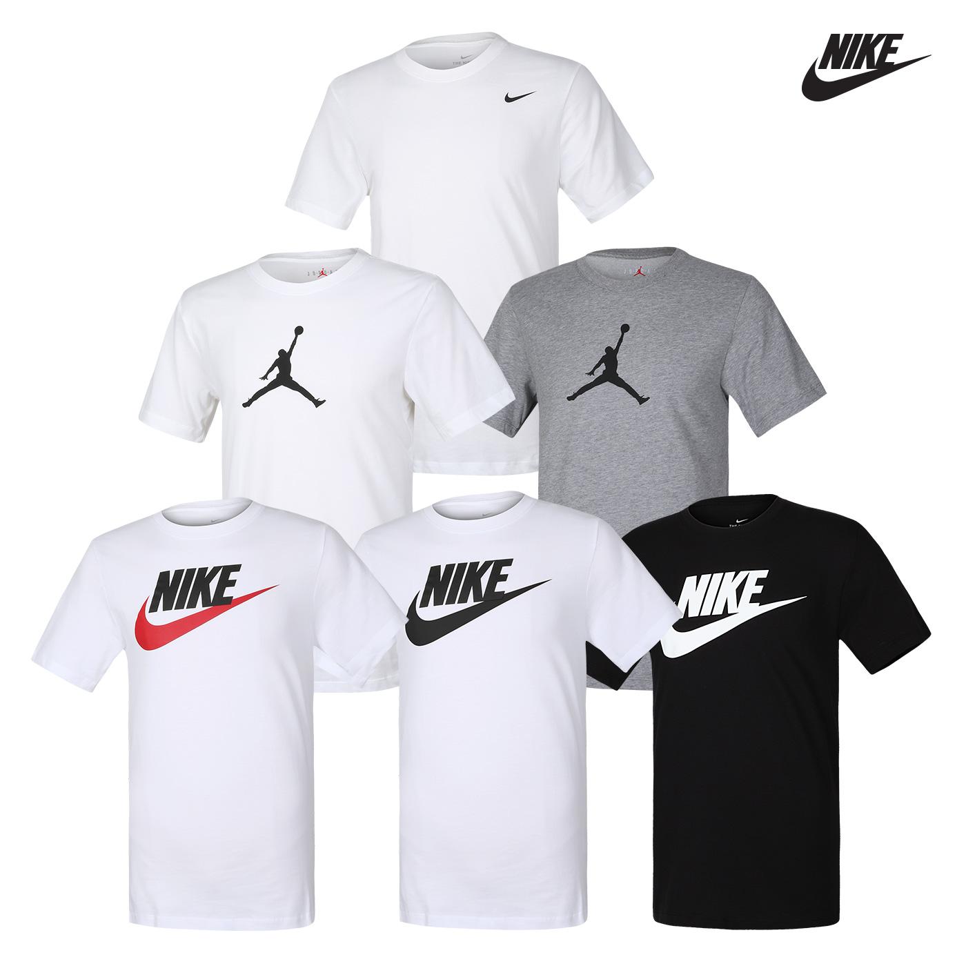 [국내배송]나이키 스우시 아이콘 퓨추라 반팔티셔츠 / 드라이 솔리드 크루넥 반팔 티셔츠 / 조던 아이콘 23/7 점프맨 티셔츠  6종택일