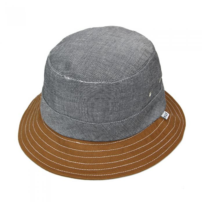 [허프 버킷햇] CHAMBRAY FIELD BUCKET-BLK
