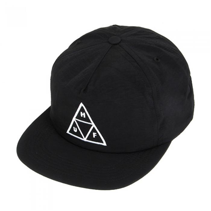 [허프 볼캡/스냅백] TRIPLE TRIANGLE SNAPBACK-BLK (T