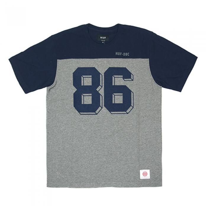 [허프 반팔티] FRANCO S/S FOOTBALL JERSEY-NAVY