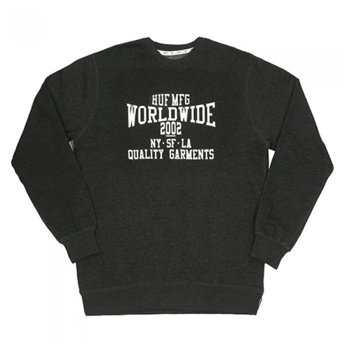 [허프 맨투맨] WORLDWIDE 2002 CREWNECK-CHH