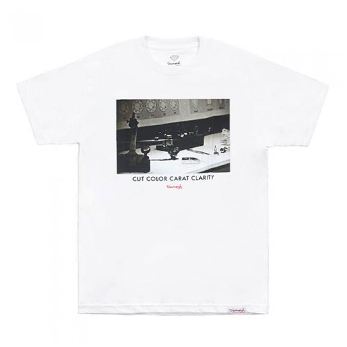 [다이아몬드 반팔티] CCCC TEE-WHITE