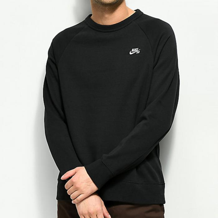 [나이키 맨투맨] SB ICON CREWNECK-BLACK
