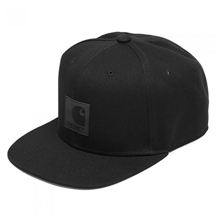 [칼하트WIP 볼캡/스냅백] (I023099) LOGO CAP-BLACK