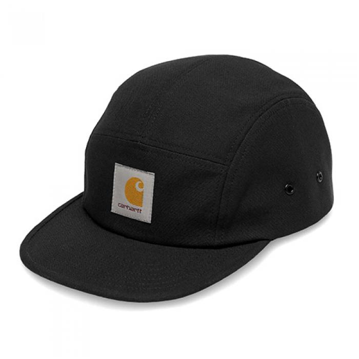 [칼하트WIP 캠프캡] (I016607) BACKLEY CAP-BLK