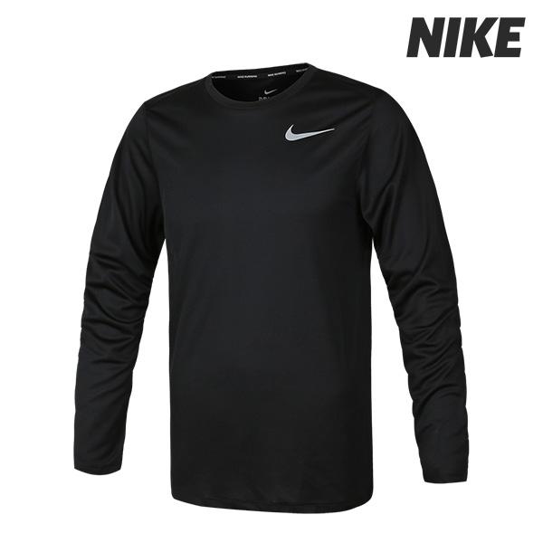[국내배송]나이키 M NK 브레드 런 롱슬리브 티셔츠 (904483-010)
