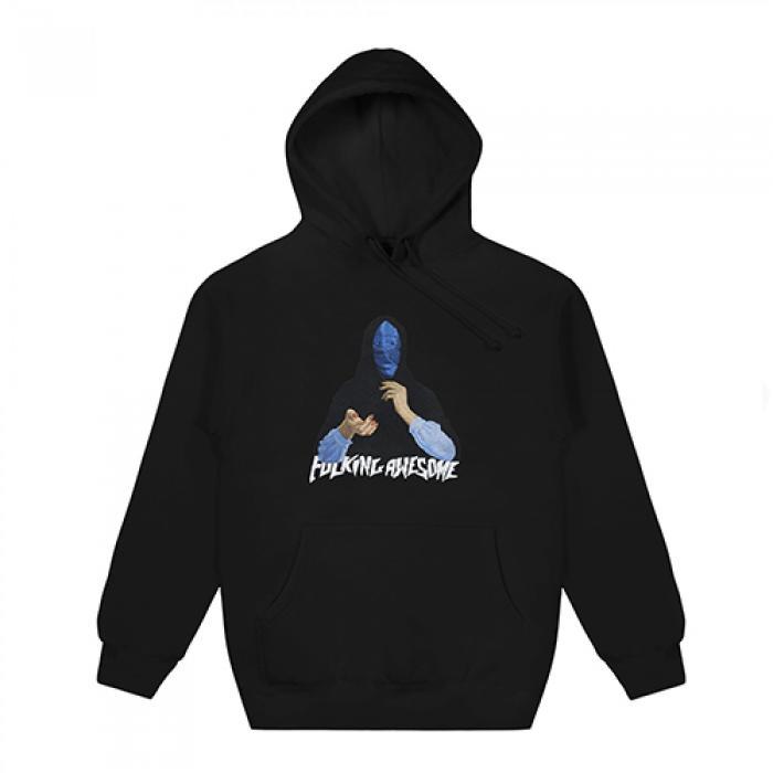 [퍼킹어썸 후드티/집업] Blue Veil Hoodie-Black