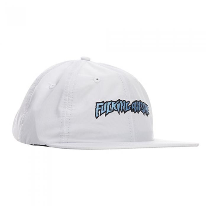 [국내][퍼킹어썸 볼캡/스냅백] Outline Logo Hat-White