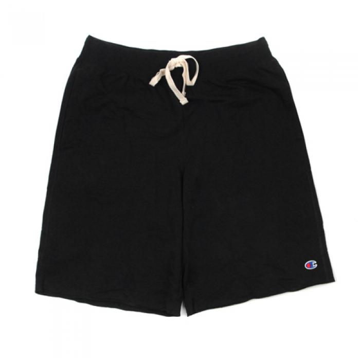 [챔피온 반바지] FRENCH TERRY SHORT-BLACK