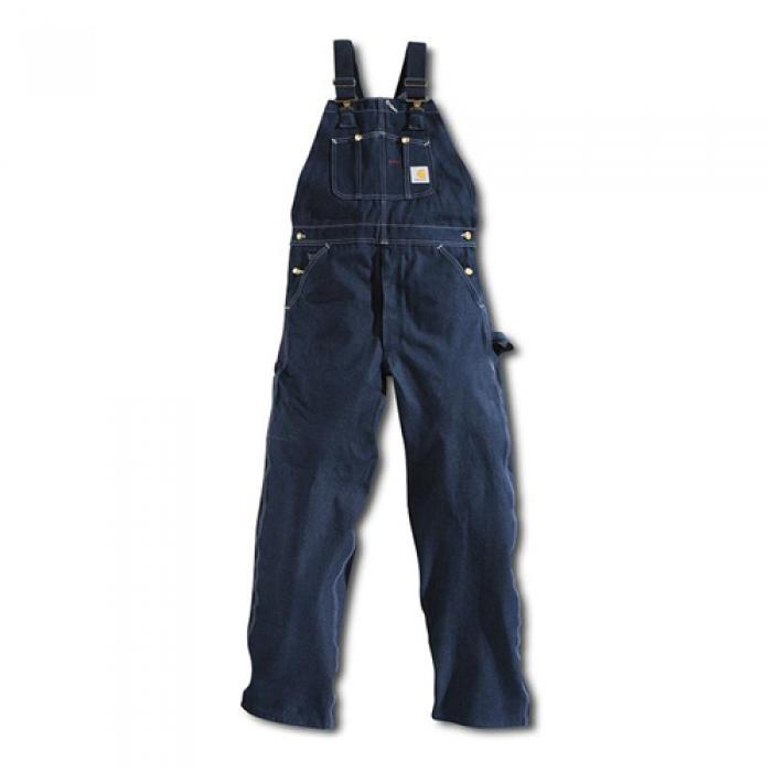 [칼하트 데님팬츠] (R08)M DENIM BIB OVERALLS-DENIM