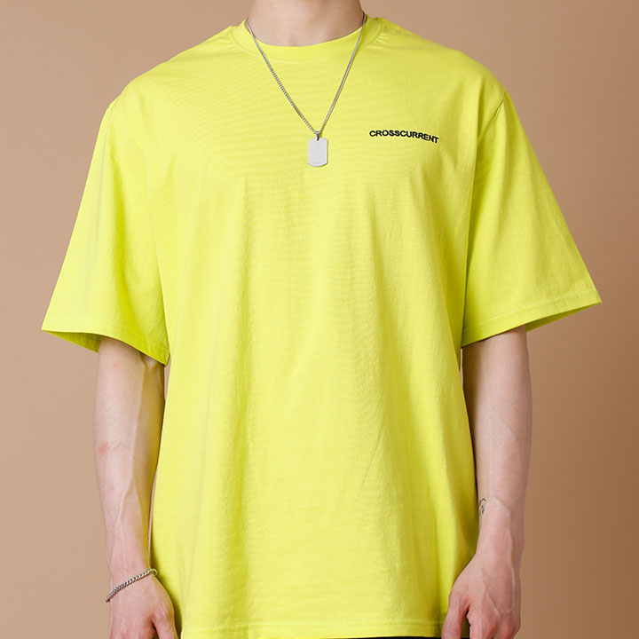 CCT Small Logo Short Sleeve - LIME