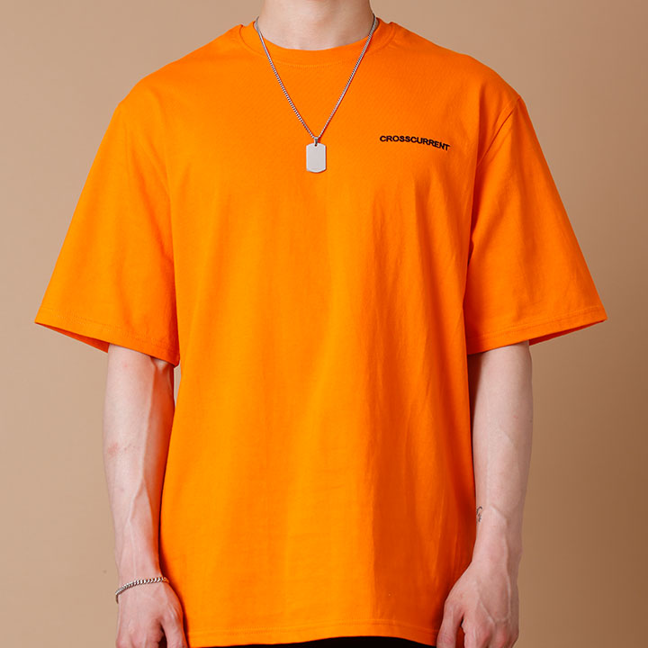 CCT Small Logo Short Sleeve - ORANGE