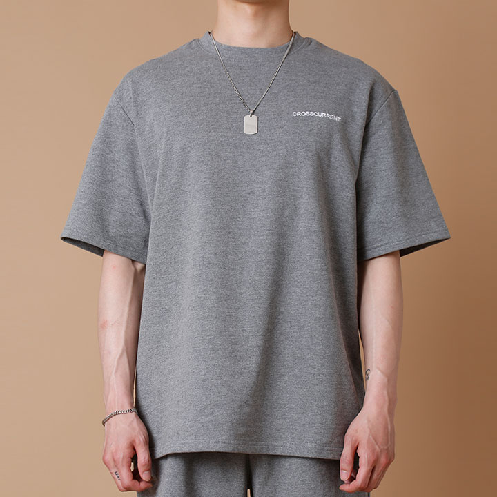 CCT Small Logo Dick Short Sleeve - GRAY