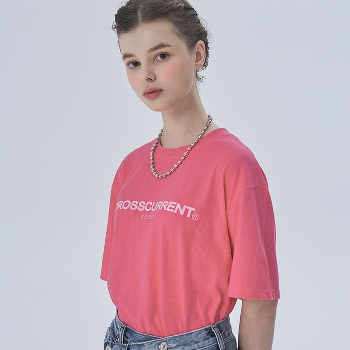 CCT 로고티셔츠 - PINK