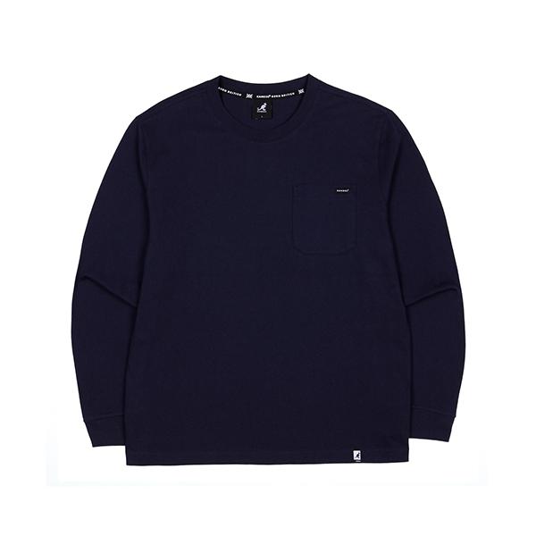 [한정특가]Pocket L/S T-shirt 3506 NAVY
