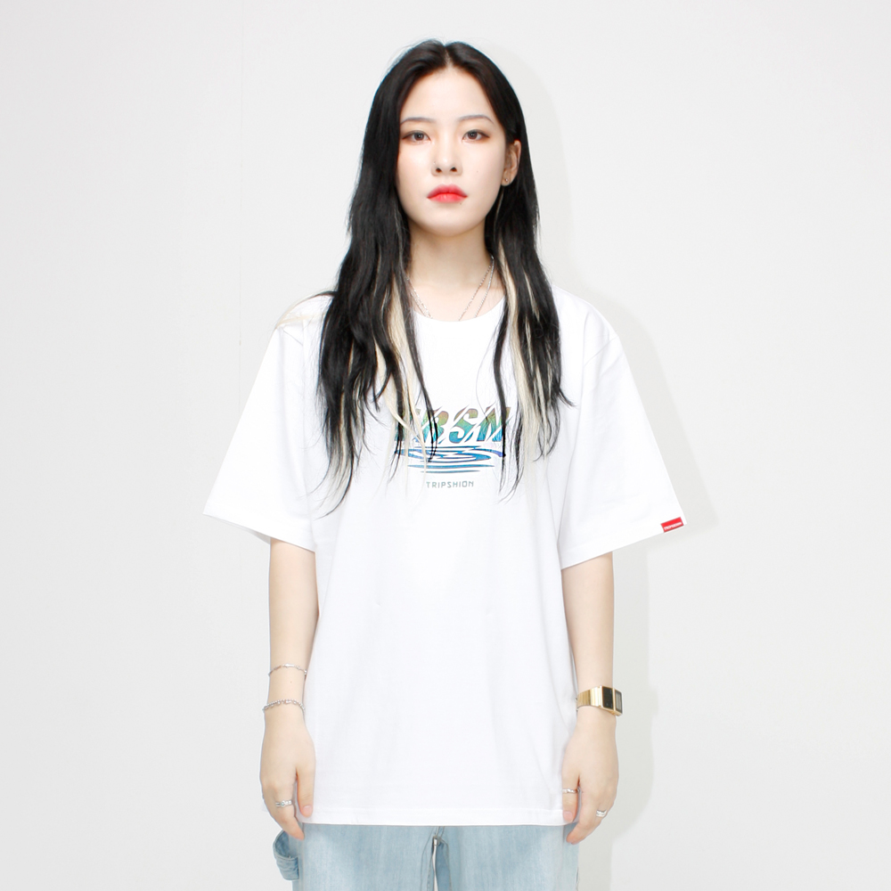 RAINBOW REFLECTOR 티셔츠 - 화이트