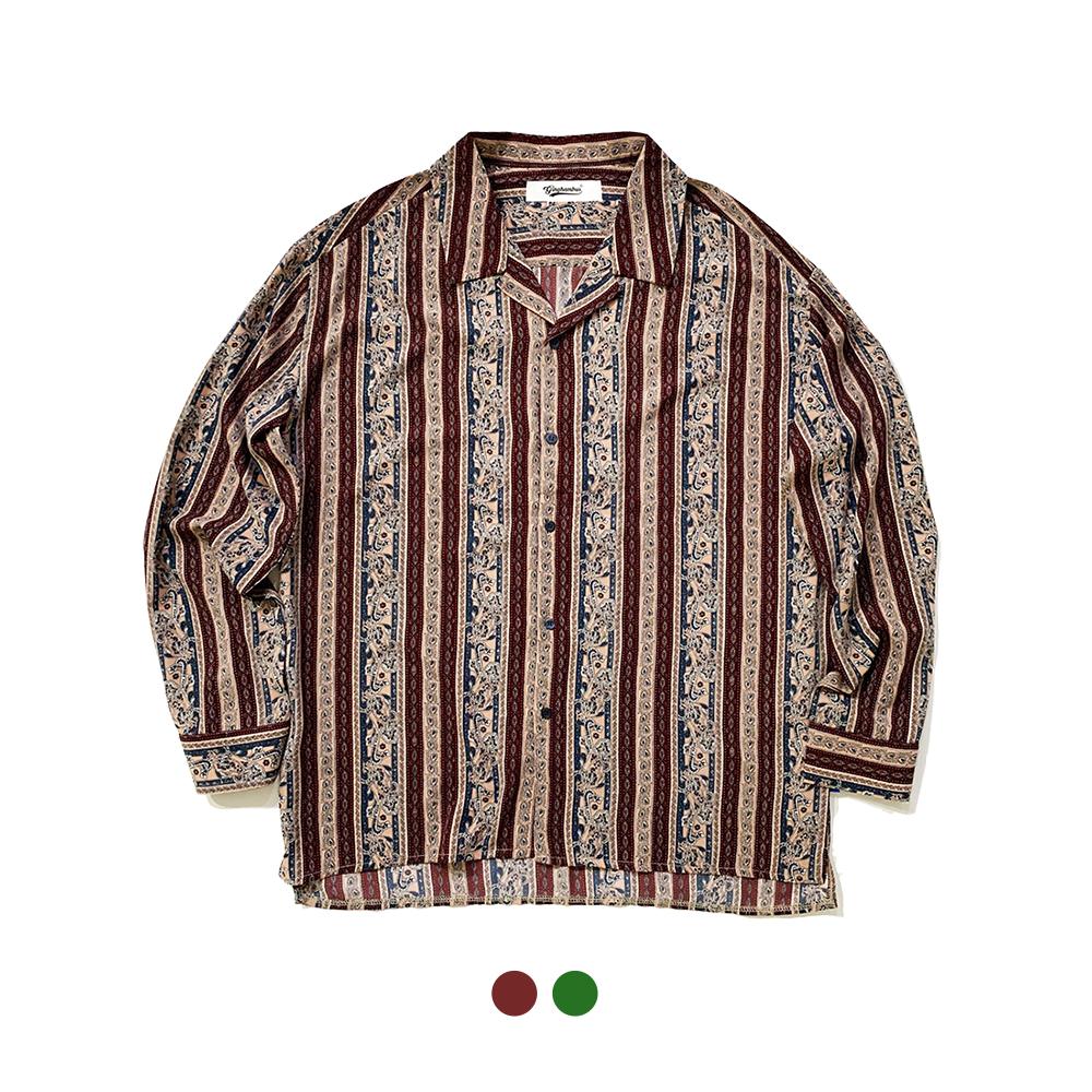 푸아레 페이즐리셔츠 Poiret Paisley Shirt(2color)