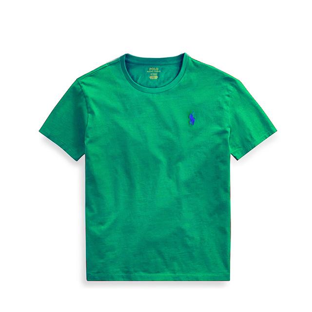 [국내배송]폴로랄프로렌 맨즈 라운드 반팔 티셔츠 710610667 092 그린(보라)