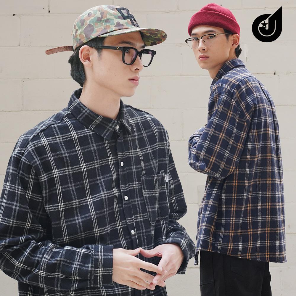 [다이클레즈] 코지체크 셔츠 3종 LHLS5092