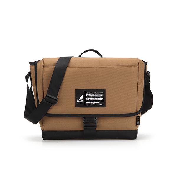 Patch Messenger Bag 2022 TAN