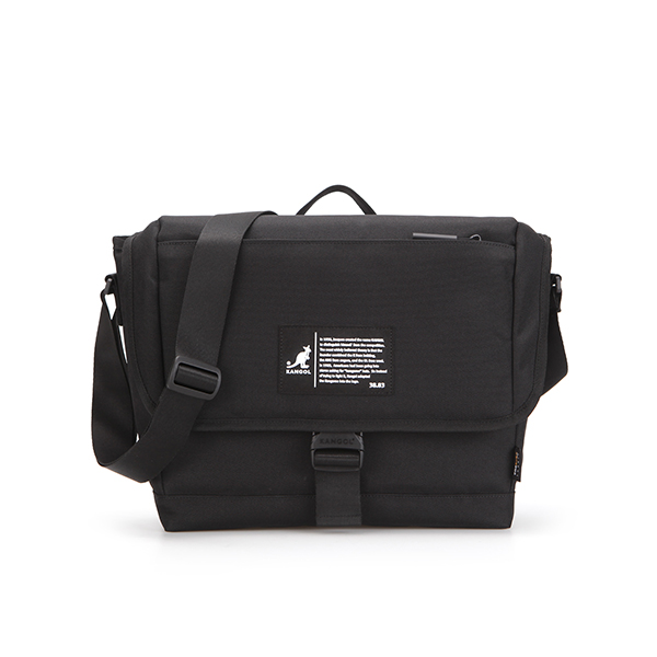 Patch Messenger Bag 2022 BLACK