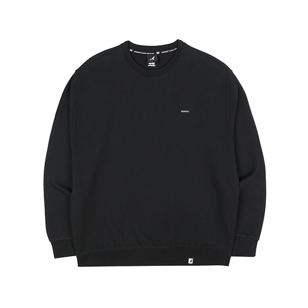 Club Oversize Sweatshirt 1613 BLACK